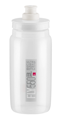Picture of Bidon Elite Fly Clear  c/ logo Cinza 550 ml