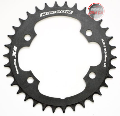 Picture of Roda Pedaleira Shimano XTR 11v CNC7075 - BCD 96x34T