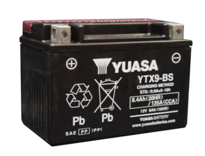 Picture of Bateria Yuasa YTX9-BS (c/eletrólito)