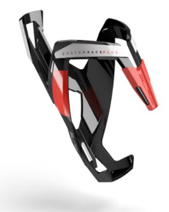 Picture of Grade bidon CUSTOM RACE PLUS BLACK, preto/vermelho brilhante